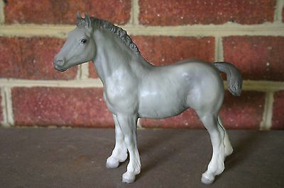 Breyer Clydesdale Foal Horses International Special Run Gray Limited 500 Rare