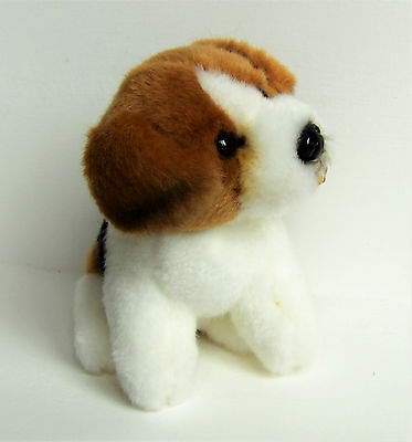Miniature Dog Soft Toy Beagle By Living Nature
