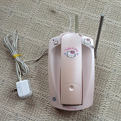HELLO KITTY Pink Cordless Telephone. - GE- works, Nice condition