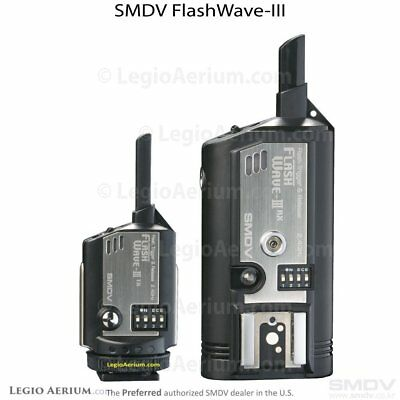 FlashWave3 Wireless Radio Slave Hot Shoe Remote Wireless Flash Trigger System