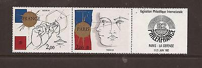 France 1982 Philexfrance Mnh Set Of Stamps