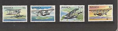 Jamaica 1984 Sea Planes Mnh Set Of Stamps