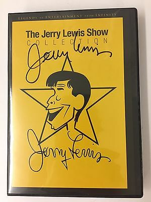 New Autographed By Jerry Lewis 2-Dvd Set Of The Jerry Lewis Show Collection