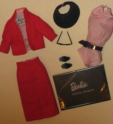 Vintage Barbie Repro/reproduction-#981 Busy Gal Fashion-Mint