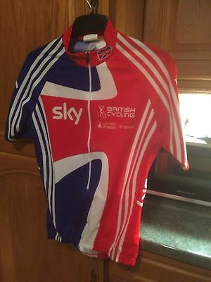 SKY Adidas Cycling Top Size M