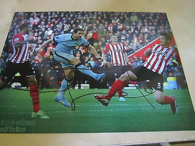 signed 8 x 6 picture frank lampard manchester city