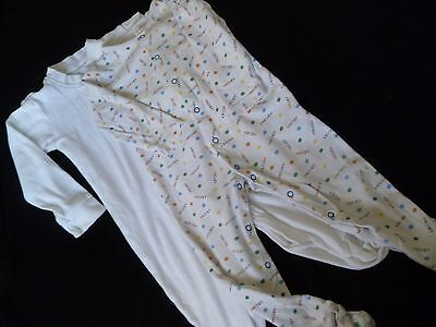 2 Boys Sleepsuits Age 12 - 18 months