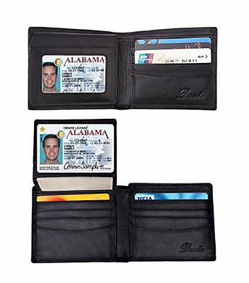Dante RFID Blocking Stylish Leather Wallet for Men, Credit Card Protector