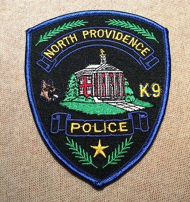 RI North Providence Rhode Island K-9 Unit Police Patch