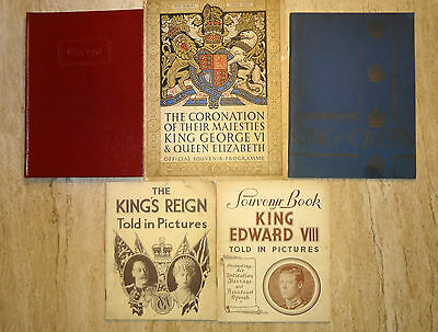 Collection Of 5 Pieces Of Royal Memorabilia. Edward 8, George 6, George 5.