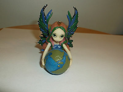 Jasmine Beckett-Griffith - Fairy Ornament - World In Good Hands