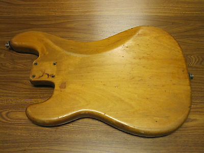 1968-71 Fender Precision Bass Body - For Restoring And Building - Project