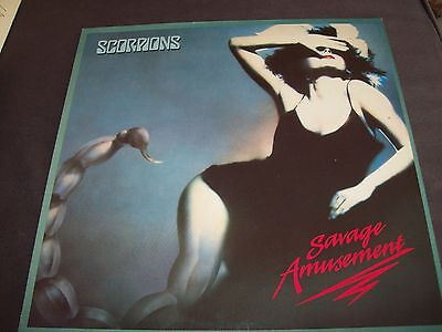 Scorpions Savage Amusement LP 1988 Harvest Records