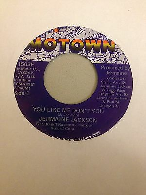 Jermaine Jackson, You Like Me Don't You.