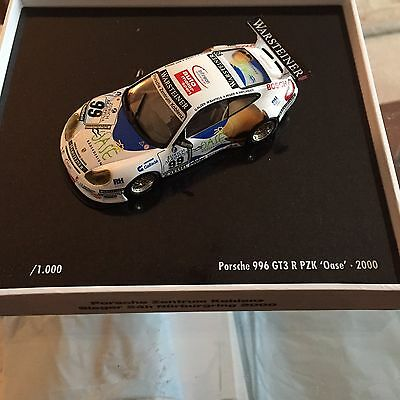 Minichamps Porsche 996 GT3 R, Oase Car # 99 from 2000. 1/43 scale diecast