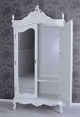 vintage kleiderschrank shabby chic schrank w scheschrank. Black Bedroom Furniture Sets. Home Design Ideas