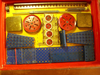 "Very Rare ""meccano"" Outfit E Part Restrung On Original Cards Set Believed Comple"