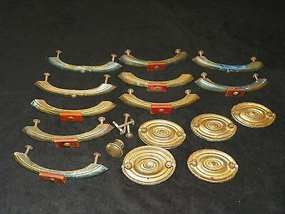 Lot of Vintage Dresser Drawer Handles Pulls Salvage Bakelite