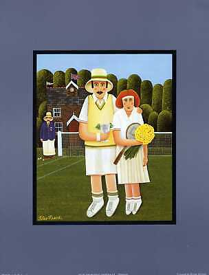 OUR SPORTING HERITAGE,(TENNIS)unmounted print new