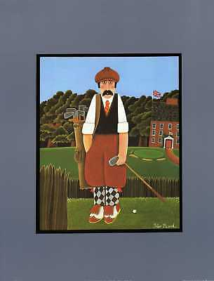 OUR SPORTING HERITAGE, (GOLF)unmounted print new