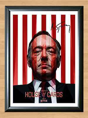 House of Cards Kevin Spacey S3 Signed Autographed A4 Photo Print Memorabilia