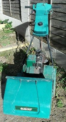 SUFFOLK PUNCH 35SK Petrol Lawnmower QUALCAST - Self Propelled