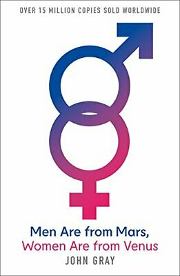 Men Are from Mars Women Are from Venus: A Practi by John Gray New Paperback Book