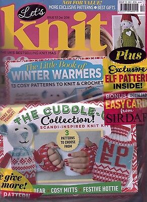 Let's Knit Magazine - Issue 113 - December 2016
