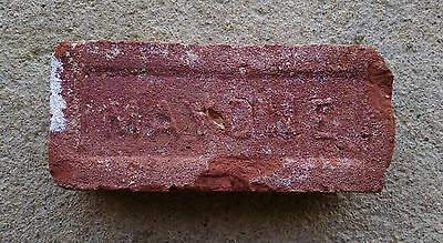 Antique Vintage MAYONE Brick Historical Architectural Hudson Valley New York