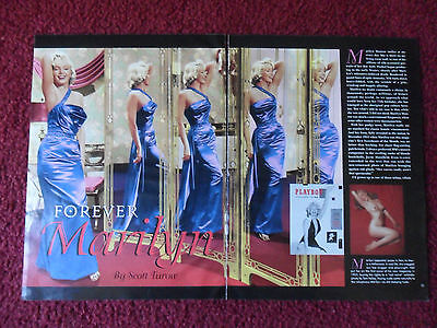 2001 Magazine Photo Article 'Forever Marilyn Monroe' by Scott Turrow