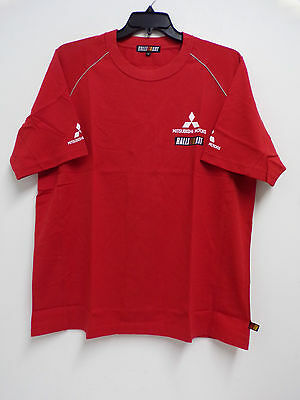MITSUBISHI RALLIART TEAM ISSUE T SHIRT MENS NEW in BAG