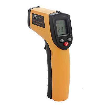Non-contact LCD Laser Infrared Temp Meter IR Temperature Backlight Thermometer