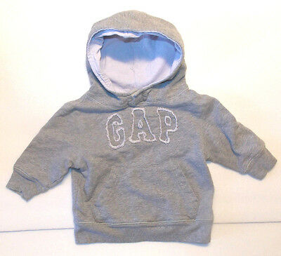 Baby Gap Infant Boys Pullover Hoodie Size 12-18 Months VGUC