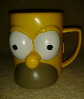 Novelty Homer Simpson Cup Plastic