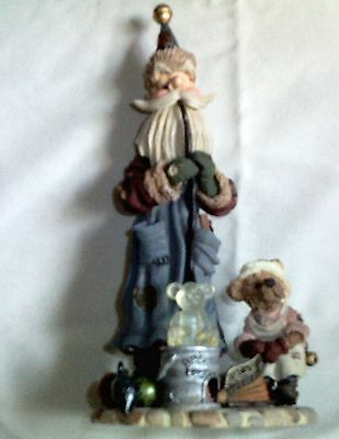 Boyd's Bears & Friends Folkstone Ludwig Puffenhuff Ornament Maker Retired In Box
