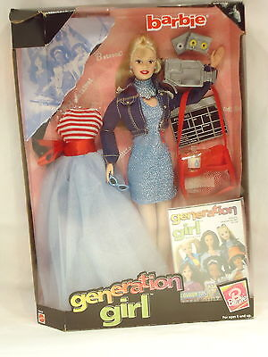 Barbie-Generation Girl- Model # 19428-Yr 1998