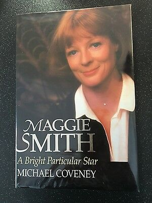 Maggie Smith A Bright Particular Star Hardback Book Michael Coveney Free Postage