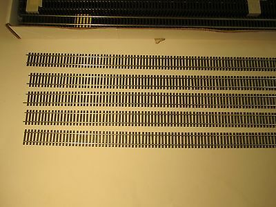 Code 83 Nickel Silver Flex Track Brown Ties--44 Sections--3' Long; Brand New