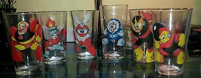 Mega Man Robot Masters glass set from the 1st Mega Man