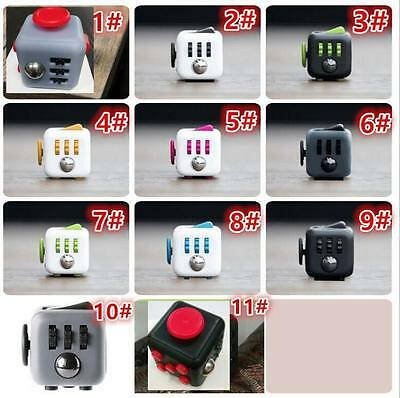 Fidget Cube Anxiety Attention Stress Relief Stocking Stuffer Toy Magic Cube US