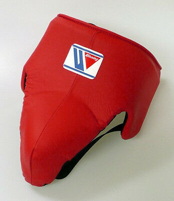 Winning Boxing Cup Protector CPS-500 Size L Standard Red (Made in Japan)