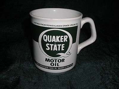 quaker state motor oil coffee cup