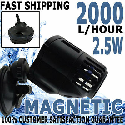 SunSun Wave Maker Aquarium Fish Tank Wavemaker Aqua Water Pump 2000lph Magnetic