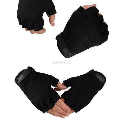 Outdoor Tactical Gloves Half Finger Anti-slip Cycling Climbing Sports Gloves