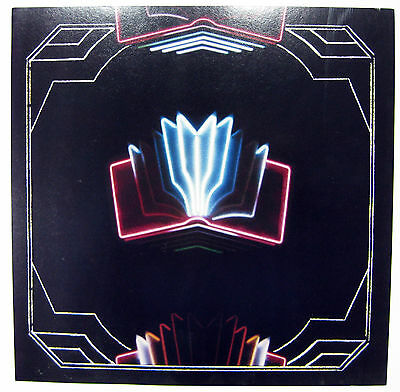 "Arcade Fire Neon Bible Promo Poster Flat 12 x 12"" 2-sided"