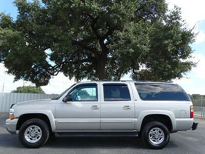 2005 Chevrolet Suburban LT 8.1L V8 4X4 8.1L V8  Leather Dual Heated Power Seats Power Pedals New Michelin Tires Tow Pkg