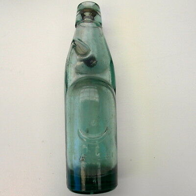 From India: Codd-Neck  Bottle With Internal Glass Marble Stopper - Collectable?