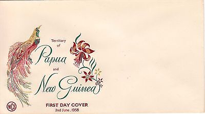 Papua New Guinea 1958 WCS Birds of Paradise blank cover