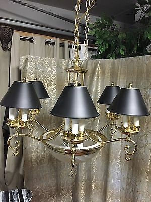 Vintage   Pendant Swag Lamp Light Chandelier Ceiling Fixture