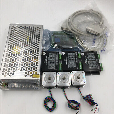 Nema17 3Axis Stepper Motor Driver CNC Kit 0.2Nm 0.6A &Power Supply & 5Axis Board